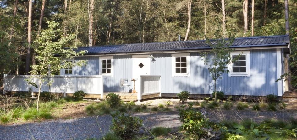 Bouwpakket huis huisje van hout for Hout huis