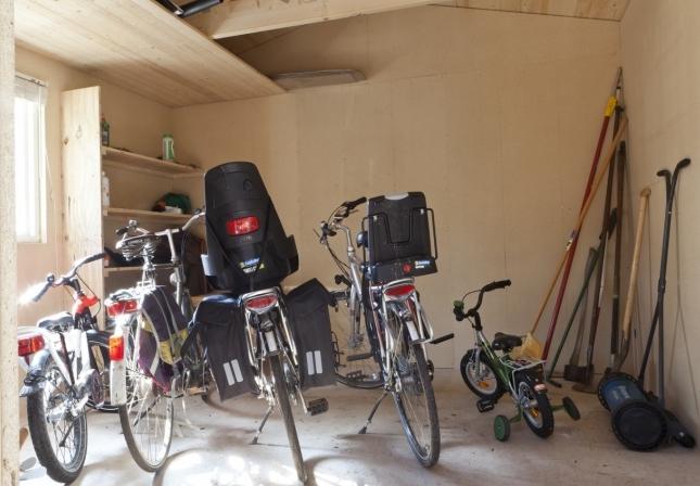 Huisje van Hout - Houten stacaravan