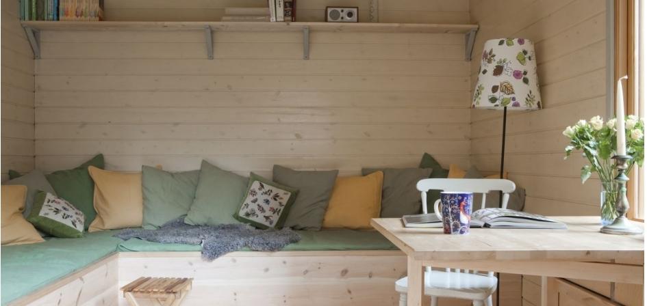Huisje van Hout - Tuinhuis als extra kamer