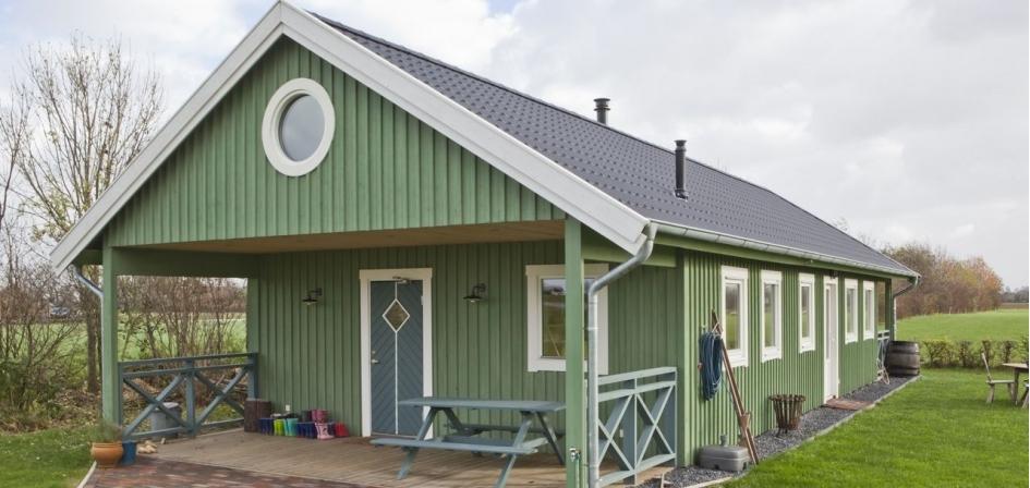 Zelf houten huis bouwen huisje van hout for Foto op hout maken eigen huis en tuin