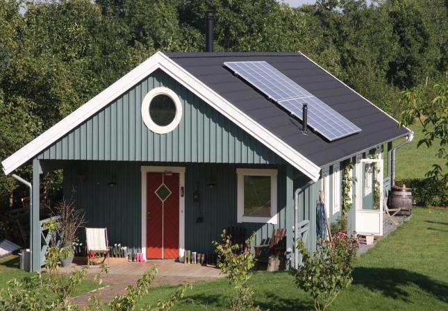 Huisje van hout welkom - Interieur houten huisje ...